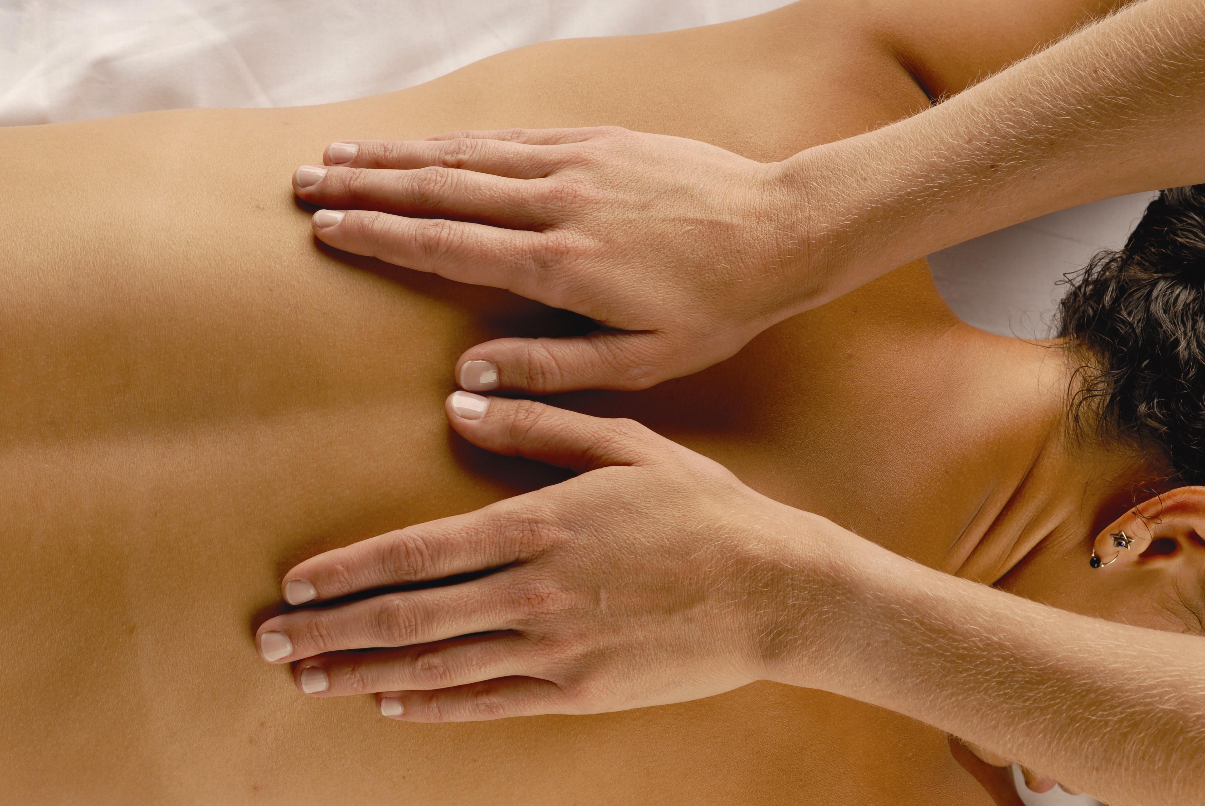 masaj cu mainile